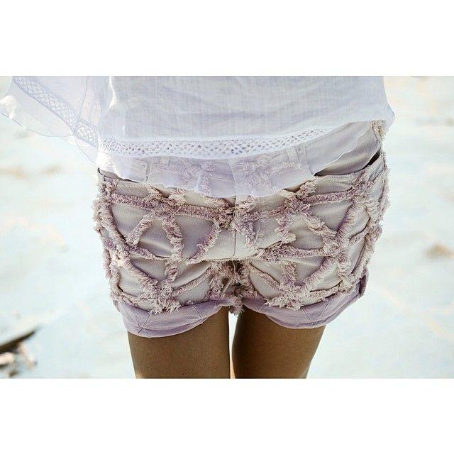 Beach - cute shorts #fashion #summer #beach #shorts #pastel