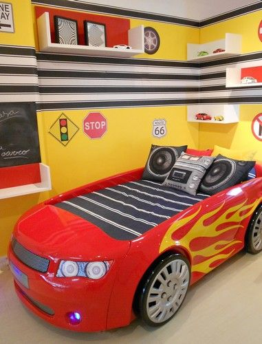 Cama Carro   camacarro   Pinterest   Car themes, Bedrooms and Room