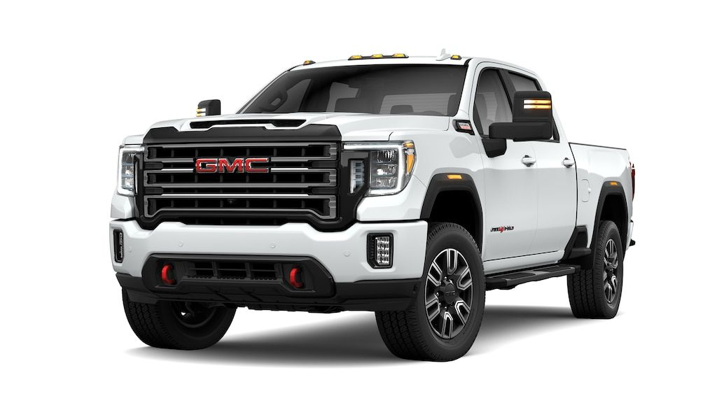 Perfect Review 2020 Gmc Sierra 1500 At4 White And Images And Description Di 2020