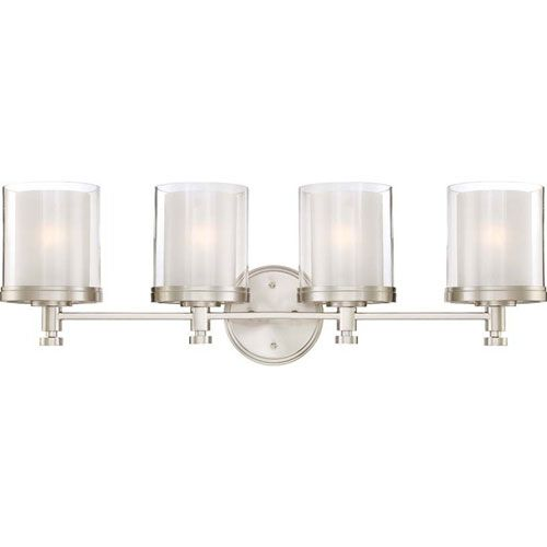 251 First Selby Brushed Nickel Four-Light Bath Sconce | Brushed ...