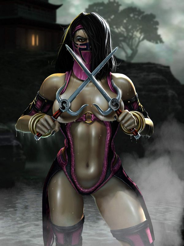 Image result for mileena mortal kombat playboy