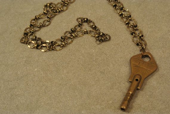 LOVE....Simply love this vintage key on a chain.... https://www.etsy.com/listing/214554815/vintage-austrian-key-necklace?ref=shop_home_active_17