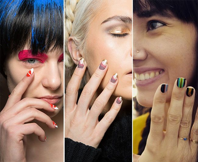 Fall/ Winter 2015-2016 Nail Trends | Sunset nails, Nail trends and ...