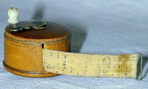 antique tape measurer