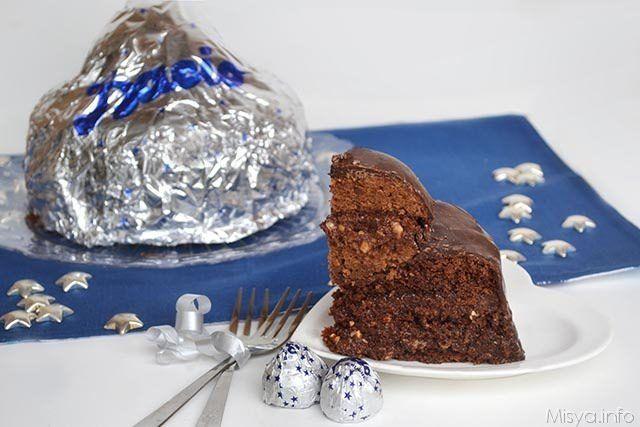 Photo of The Bacio Perugina cake is, as the name implies, a sort of v …