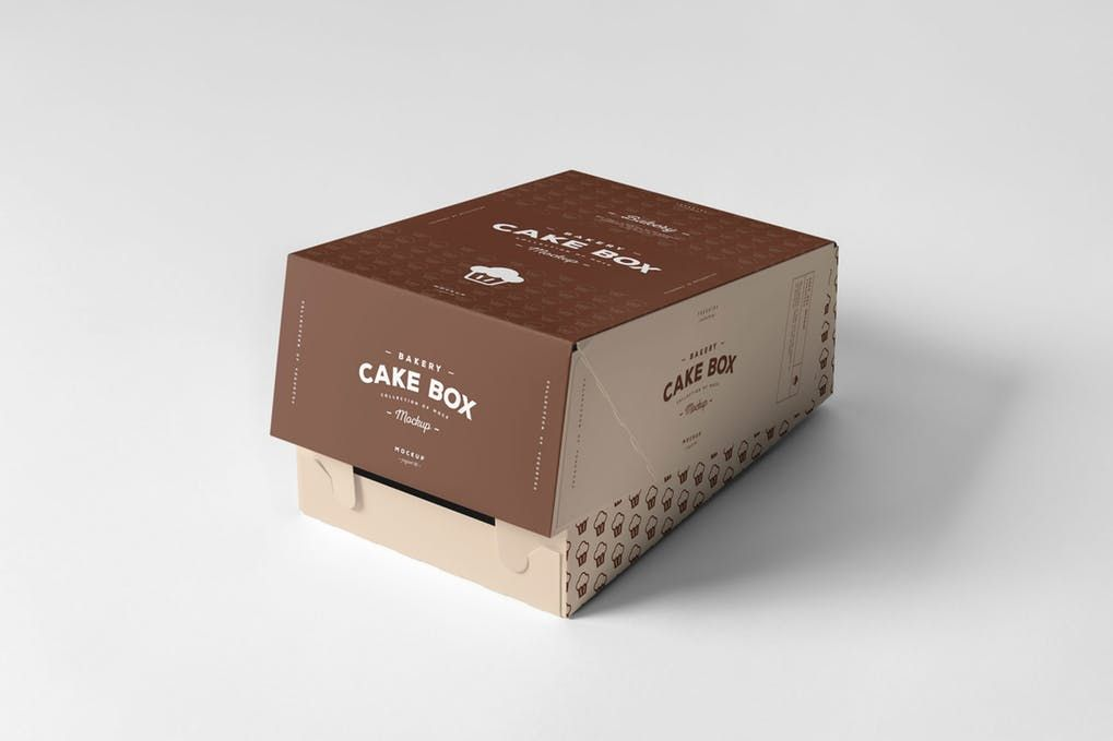 Download 20 Popular Cake Box Mockup Psd Templates Mockuptree
