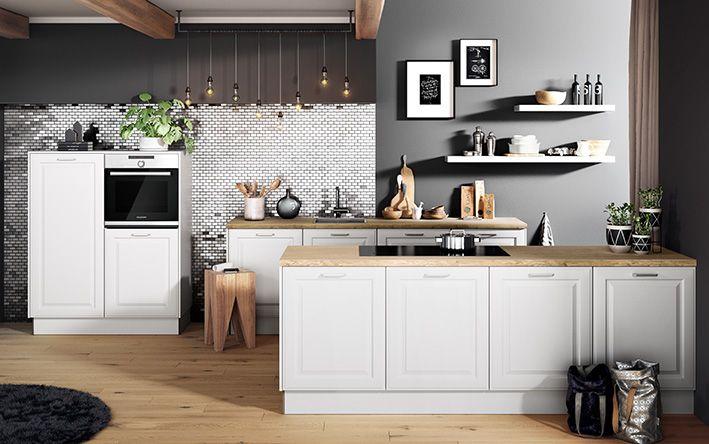 BREDA Weiß   Poduktlinie classic #häckerküchen #häcker #küchen - küche landhaus weiß