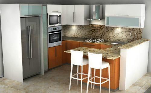 Cocina ideas para mi casa pinterest modelo de - Modelo cocinas pequenas ...