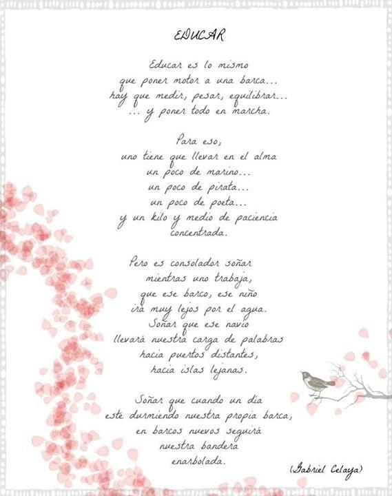 Frases Poemas Para Maestros Felicitaciones Para Maestros Frases De Educacion