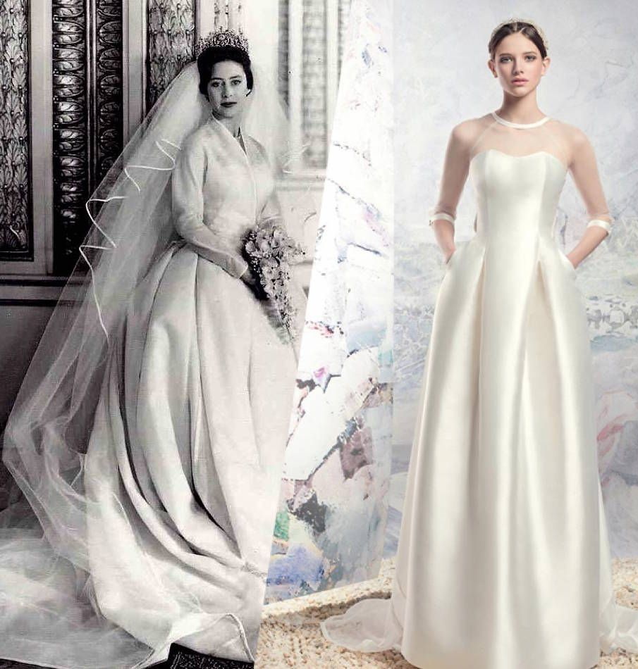 Princess Margaret Wedding Dress The Crown: Princess Margaret Was The Height Of Style In Her Day