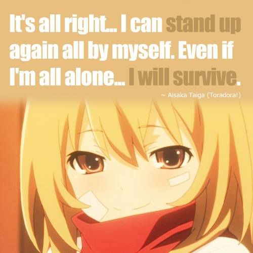12 Anime Quotes About Never Giving Up Anime Blog Toradora Anime Quotes Anime