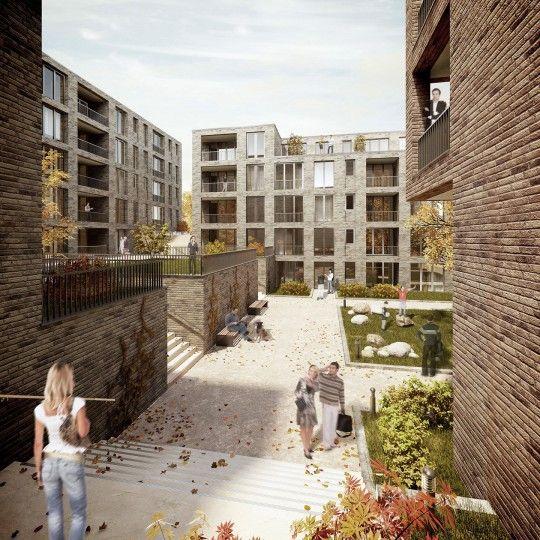 Wohnquartier Fleethorn Kiel Sprenger Von Der Lippe Stadteplanung Stadtebau Stadtplanung