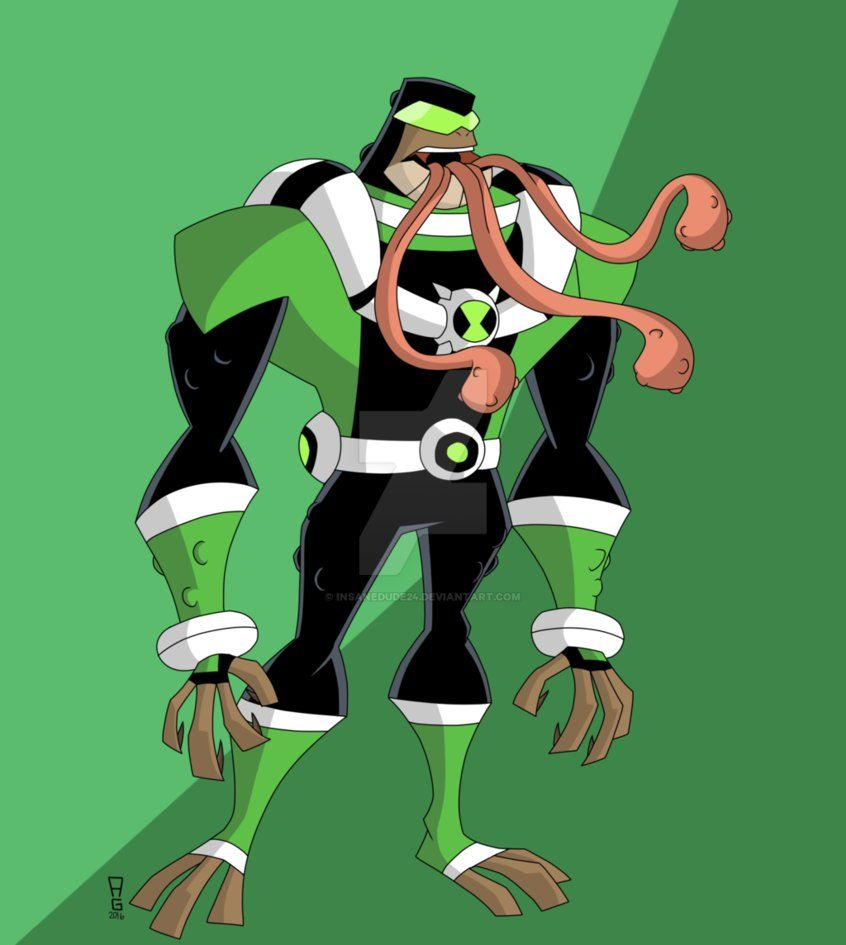 Ben 10000 Ultimate Alien: Talk About A Buff Bullfrog, Eh? Ultimate Bullfrag Is MUCH