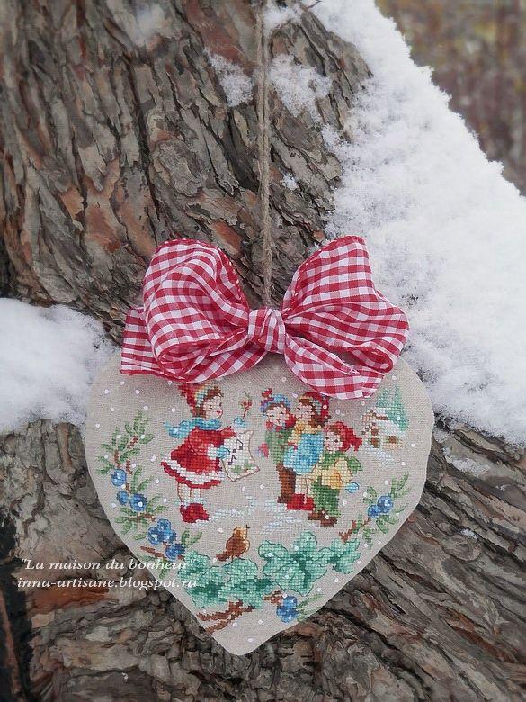 La maison du bonheur: Christmas heart.
