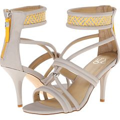 Gx By Gwen Stefani Adams Light Grey Yellow Matte Vachetta Woven, Yellow