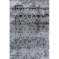 Photo of benuta Trends flat weave carpet Tosca black 115×180 cm – vintage carpet in used look benuta