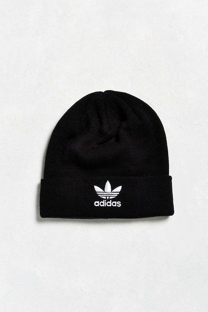 ca6c9f07a2042 adidas Trefoil Knit Beanie - Urban Outfitters