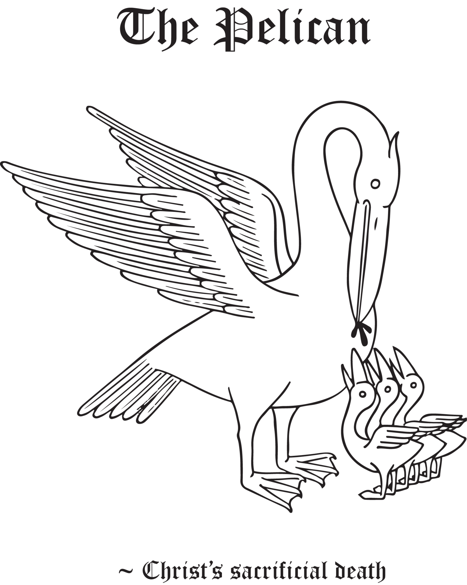 Rudolf koch christian symbol 134 the pelican symbols show your support for your faith with rudolf kochs christian symbols these gorgeous and eternally hand drawn skillfully crafted christian symbols are biocorpaavc Gallery