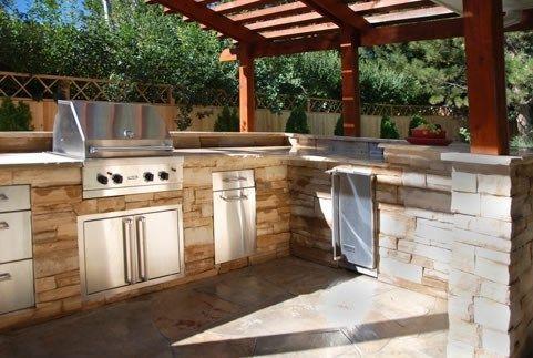 Outdoor Küche Deko : Die dekoration der modernen outdoor küche design ideen deko