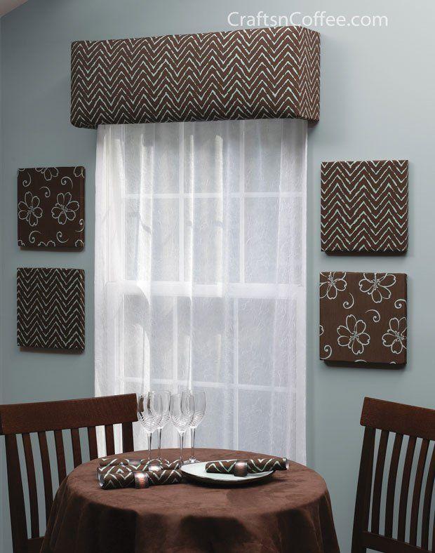 Home Decorating Diy Make Your Own Custom Window Cornices
