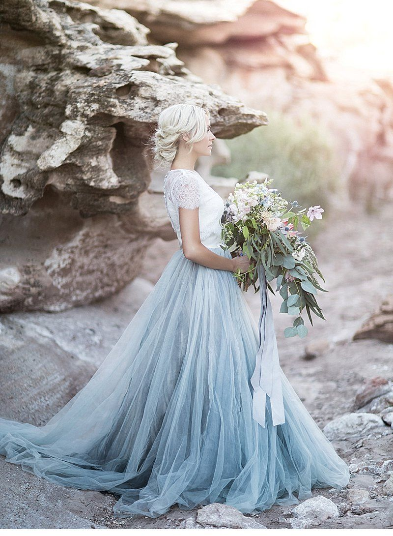 Romantic Wedding Inspirations at Zion National Park by Tyler Rye ...