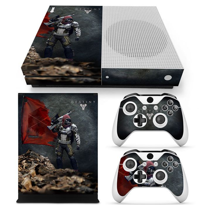 Details about Xbox One S Console Skin Decal Sticker Destiny