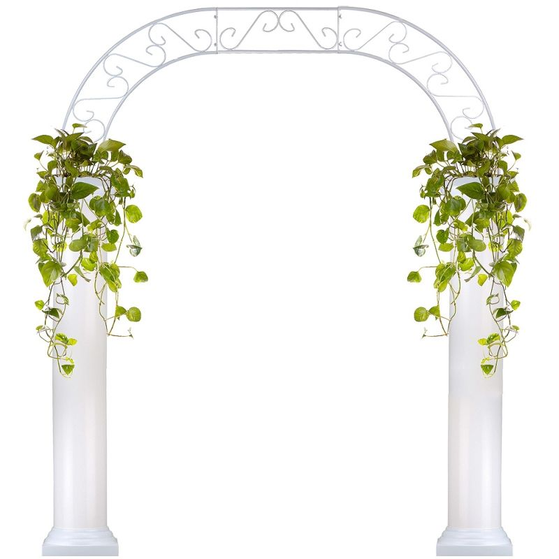 Eventswholesale.com Part - 18: Wholesale Event Solutions - Roman Wedding Arch with Two 6 Foot Columns,  $499.99 (http:--www.eventswholesale.com -roman-wedding-arch-with-two-6-foot-columns-)