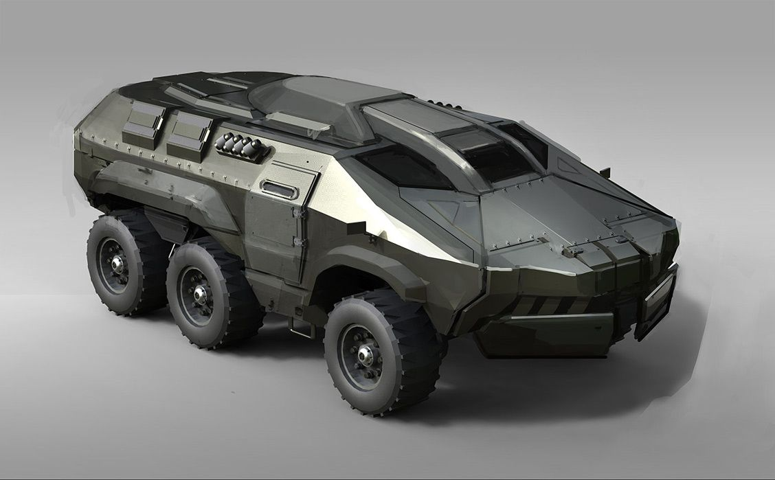 Concept cars and trucks: Military vehicle concepts by Sam ...