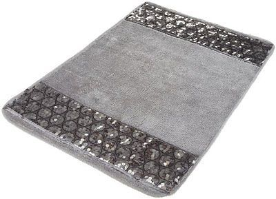 New Sinatra Silver Popular Bath Rug X Bling Bathroom - Silver bathroom rugs for bathroom decorating ideas
