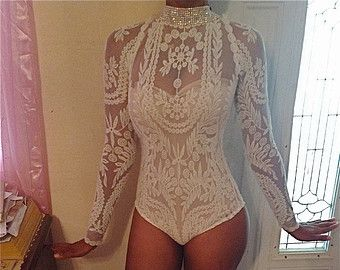 1cca86cbf9c Custom black embroidery lace sheer tunic   full ostrich feather ...
