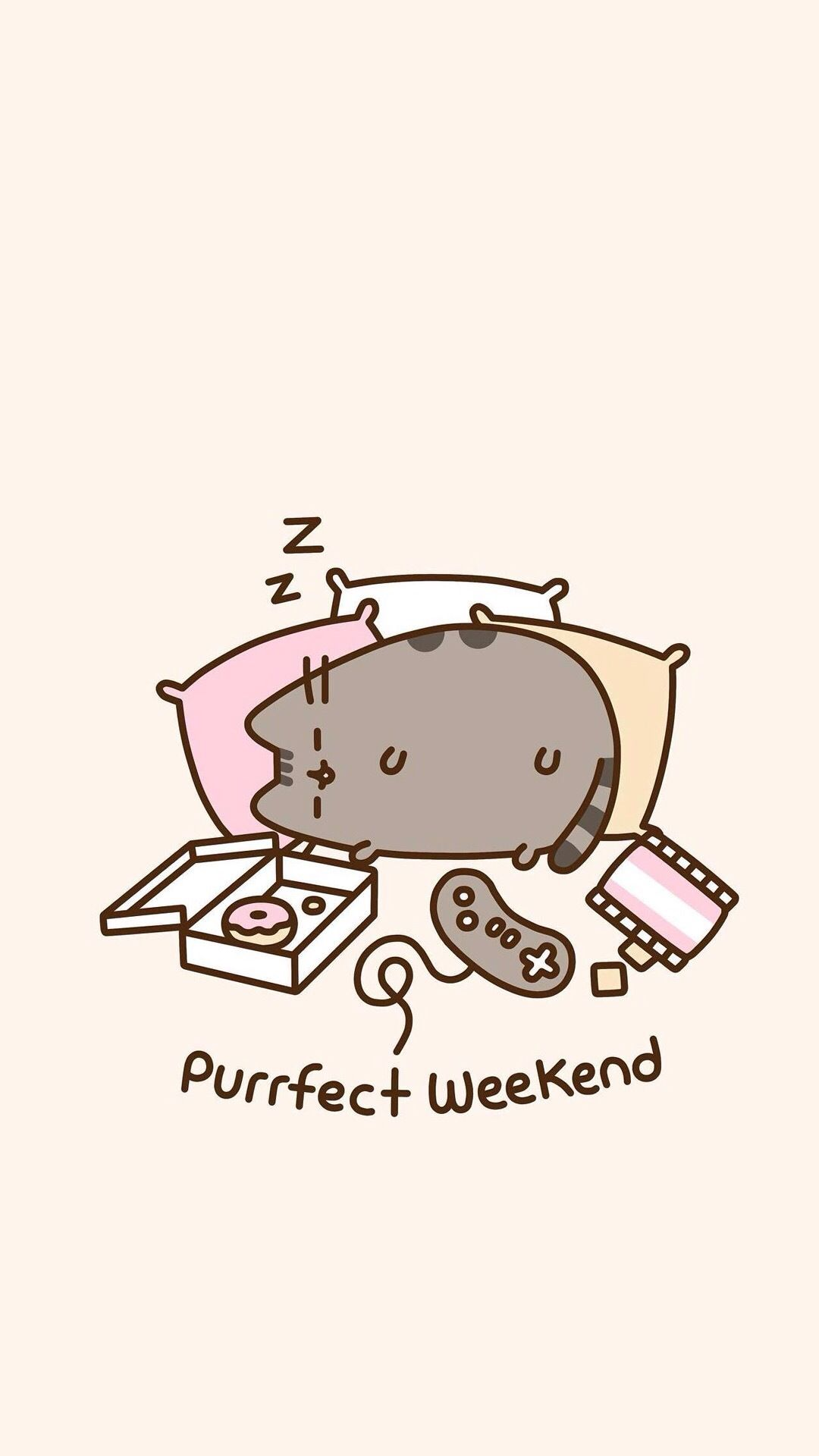Phone Wallpapers, Hd Wallpaper, Kawaii Wallpaper, Weekend Vibes, Pusheen  Cat, Gifts, Throw Blankets, Hot Topic, Presents