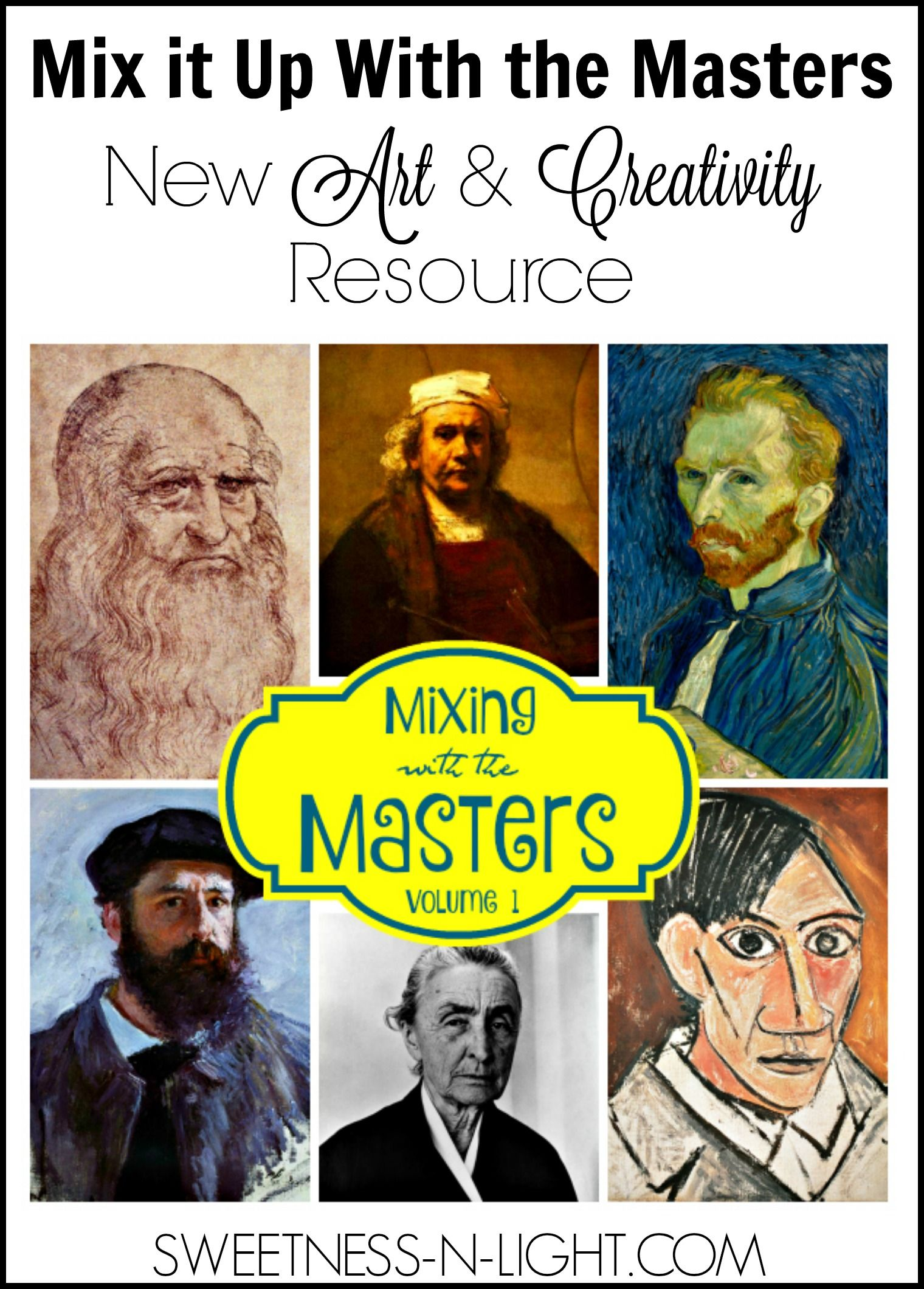 Mix It Up With The Masters A New Art Amp Creativity