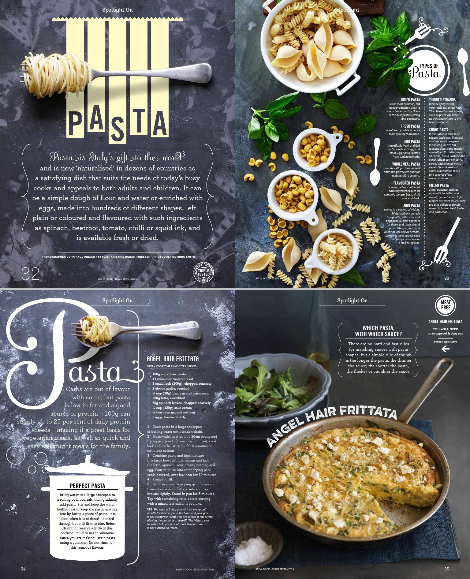 Indesign Magazine Layout Food: For More Of His Work Go To Www.hieunguyendesign.com