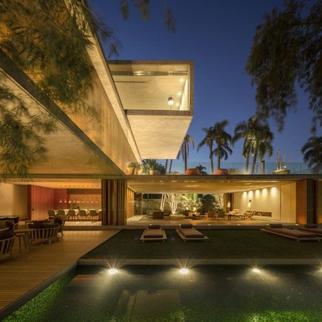 Casa P, A Concrete House In São Paulo, Is Depicted As A Luxury Home