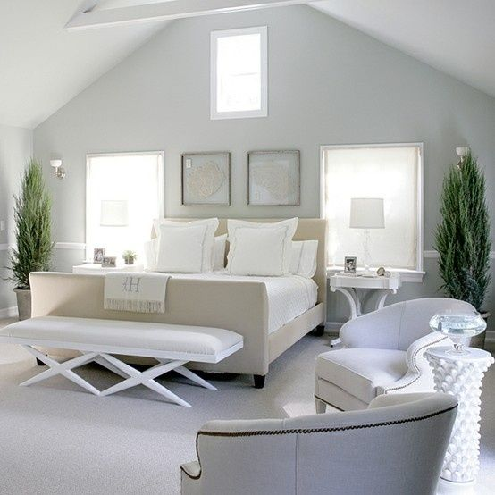 Grey Bedroom Ideas With Calm Situation: Grey And White Bedroom By Do!