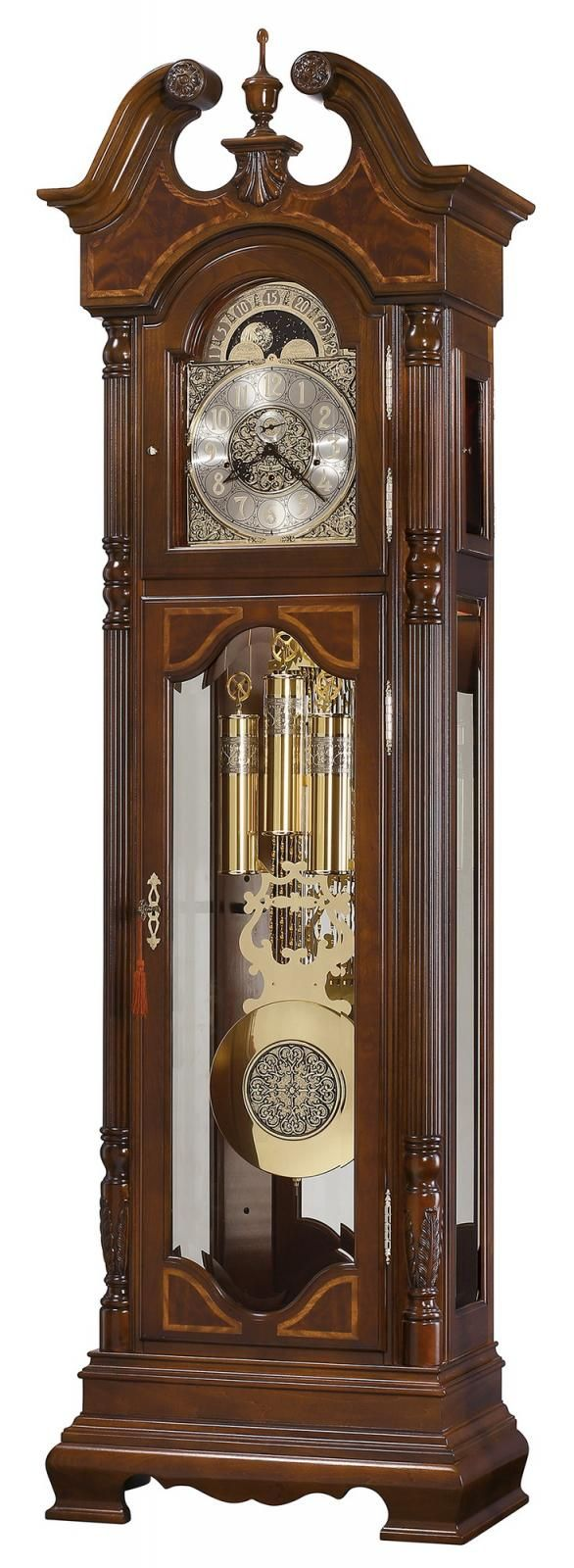 Howard Miller Chm4278 Mechanical Chiming Presidential Grandfather Clock Grandfather Clock Clock Antique Wall Clock