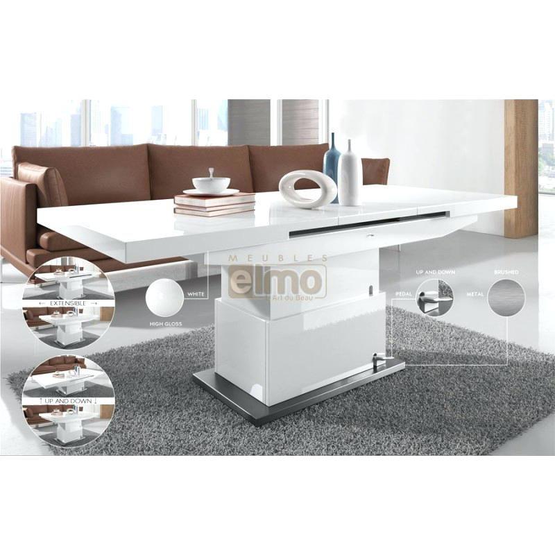 table basse relevable design italien
