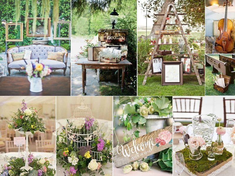 Mariage *Shabby Chic* – Rose Fantaisie *Wedding Planner & Wedding Déco*