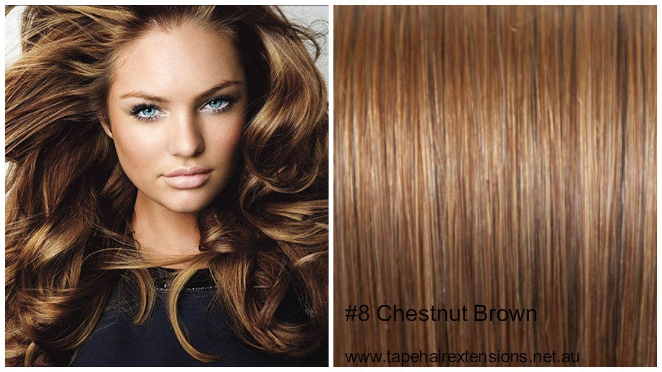 8 Chestnut Brown Hair Extensions We Supply The Worlds Best