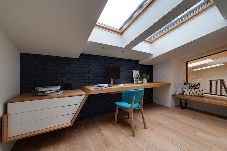 Maison avec toboggan du0027intérieur de design ludique super chic - puit de lumiere maison