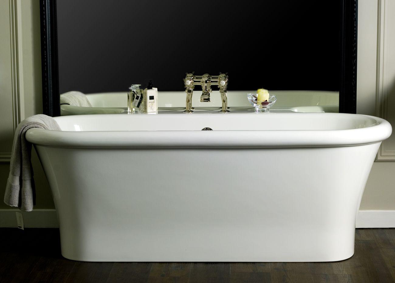 Santorini mooi comfortabel en praktisch vrijstaand bad #bad