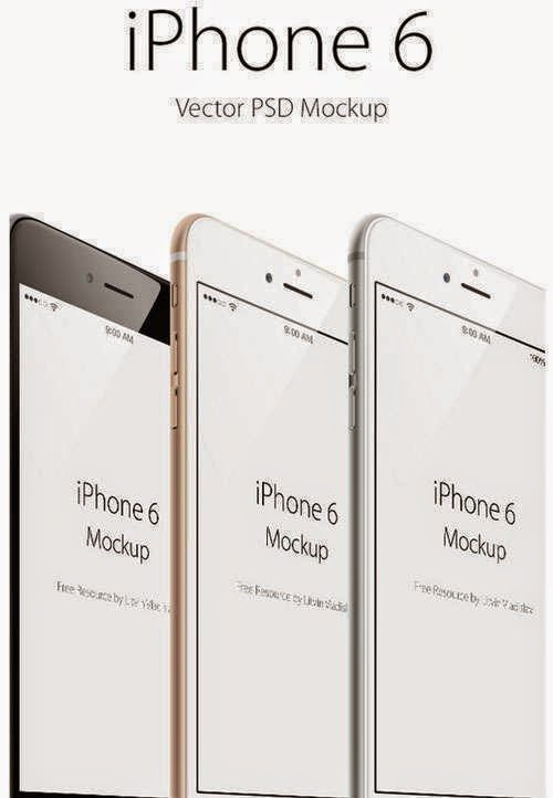 Free iPhone 6 PSD Mock-ups and Templates