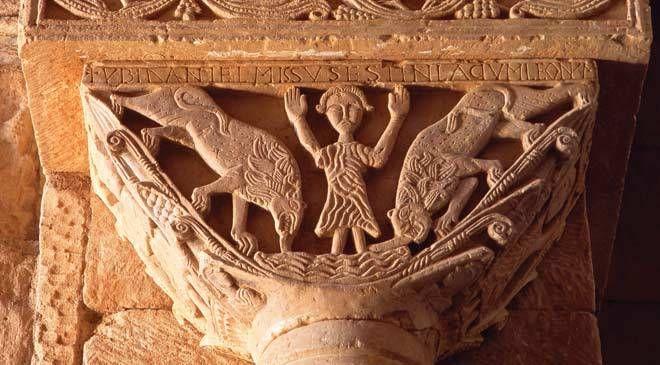 Resultado de imagen de san pedro de la nave capiteles