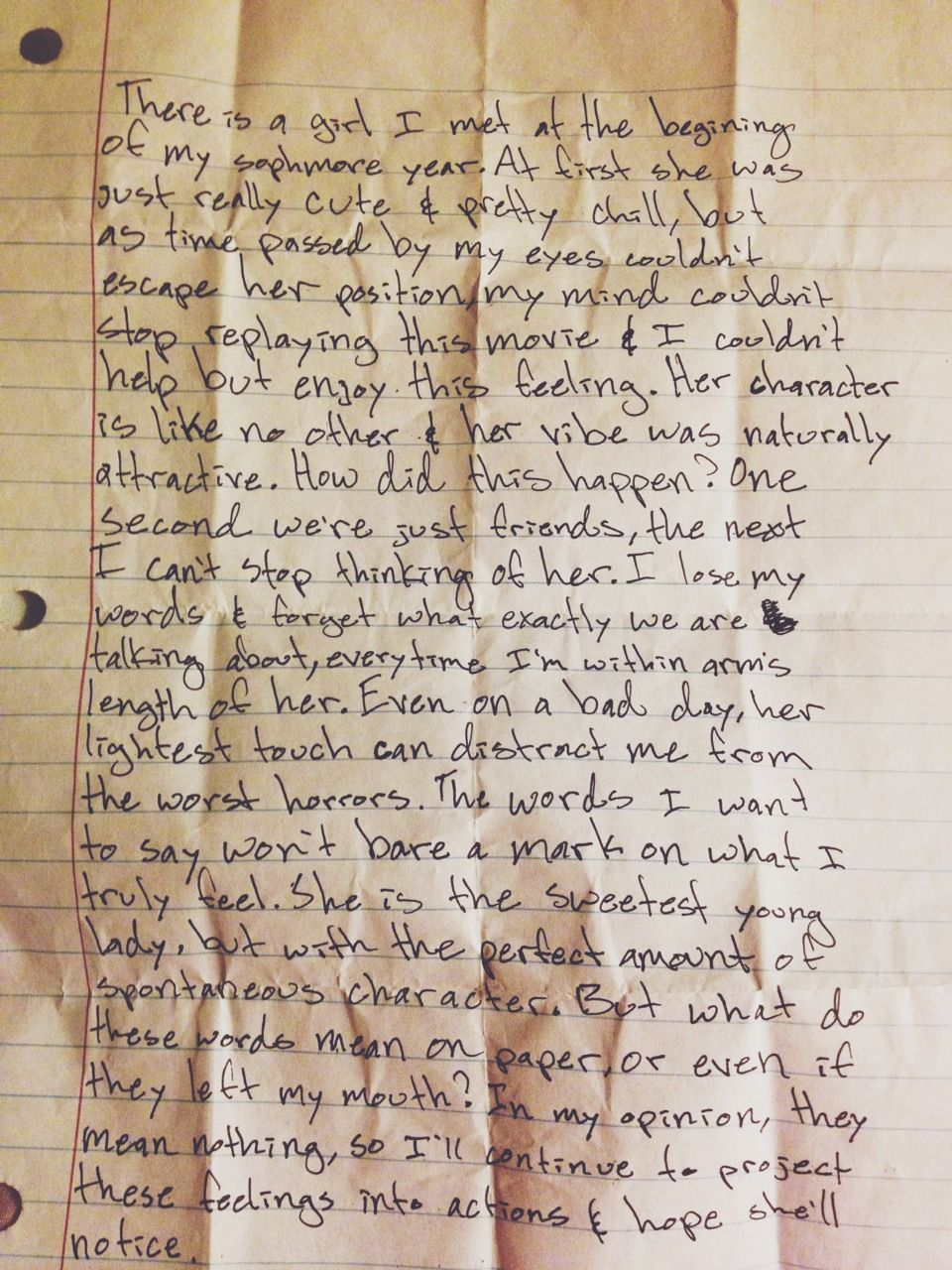 im seriously obsessed with this love letter  preach
