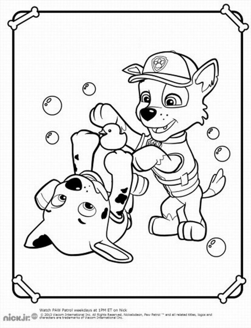 Paw Patrol Coloring Pages For Boys Kleurplaten Kleuren Kinderkunst