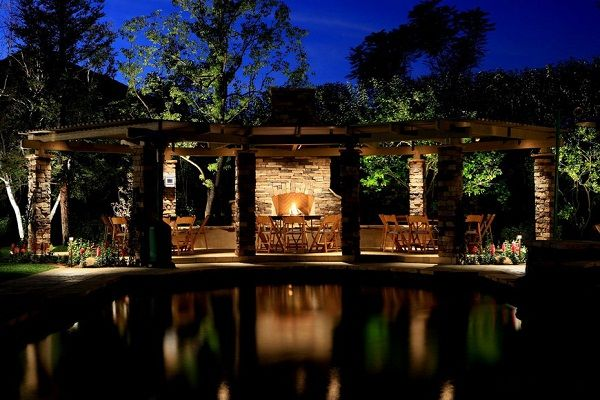 yard lighting | 10 Gorgeous And Easy Outdoor Lighting Ideas ... on outside lighting ideas, outdoor umbrella lighting ideas, patio decor, landscape lighting ideas, beachfront lighting ideas, trellis lighting ideas, gazebo lighting ideas, patio backyard, post lighting ideas, yard lighting ideas, pathway lighting ideas, wedding lighting ideas, patio lights, outdoor pool lighting ideas, unique outdoor lighting ideas, patio lanterns, porch lighting ideas, front entry lighting ideas, walkway lighting ideas, garden lighting ideas,