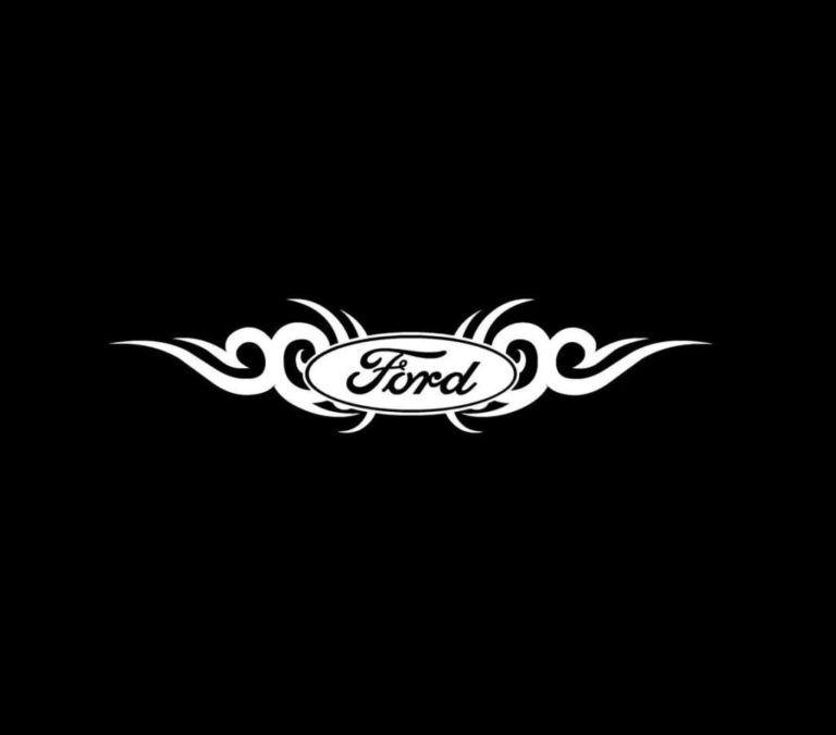 Ford Tribal Truck Decal Sticker Custom Sticker Shop Truck Decals Ford Jokes Ford Custom Van