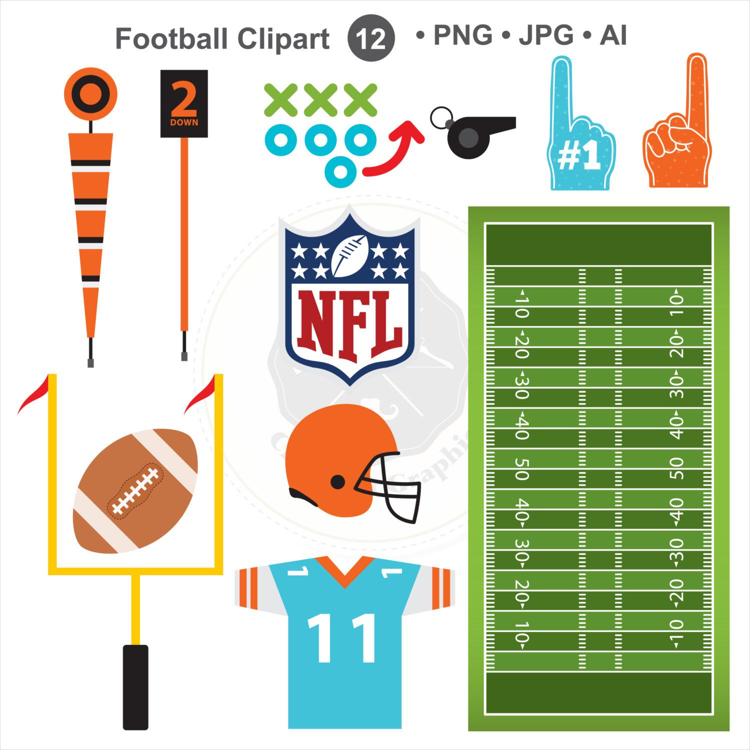 football clipart sports clipart american football clipart digital rh pinterest com american football clipart american football clipart free