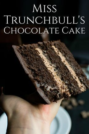 Miss Trunchbull's Chocolate Cake - A baJillian Recipes