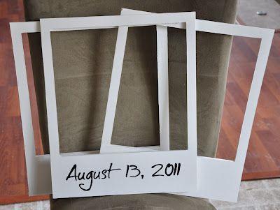 Polaroid Photo Booth Props : Happy Birthday!!